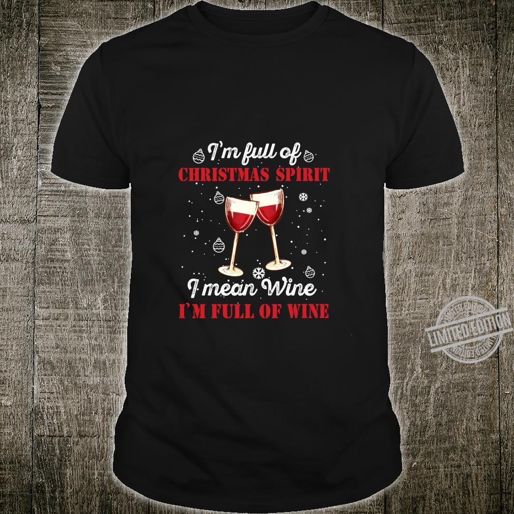 Funny Christmas Wine Outfit Christmas Xmas Christmas Shirt
