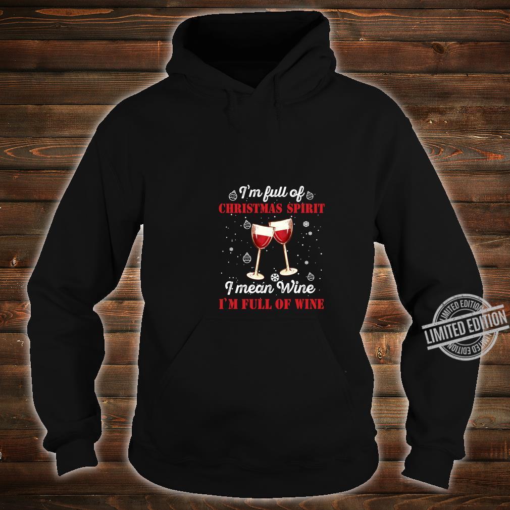 Funny Christmas Wine Outfit Christmas Xmas Christmas Shirt hoodie
