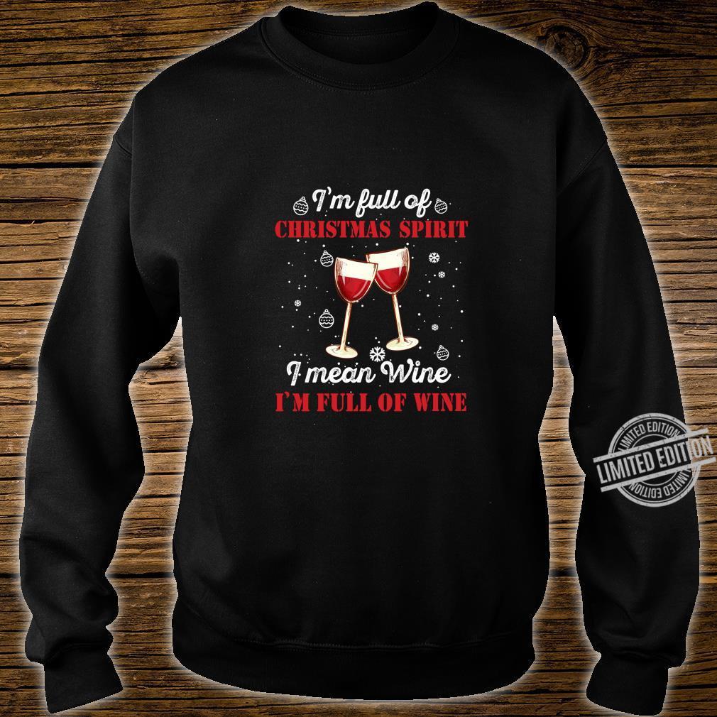 Funny Christmas Wine Outfit Christmas Xmas Christmas Shirt sweater