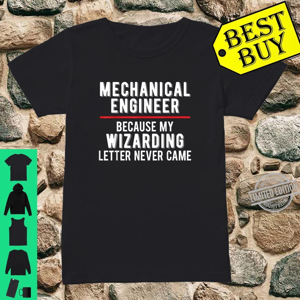 Mechanical Engineer Graduation Design For Wizards Shirt ladies tee