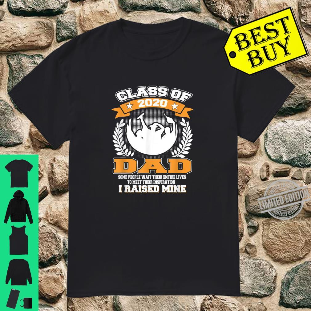 Mens Proud Dad Of A Class Of 2020 Graduate for Aunt Shirt