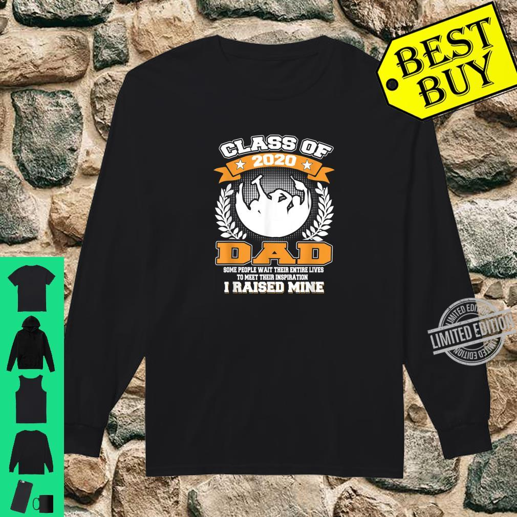 Mens Proud Dad Of A Class Of 2020 Graduate for Aunt Shirt long sleeved