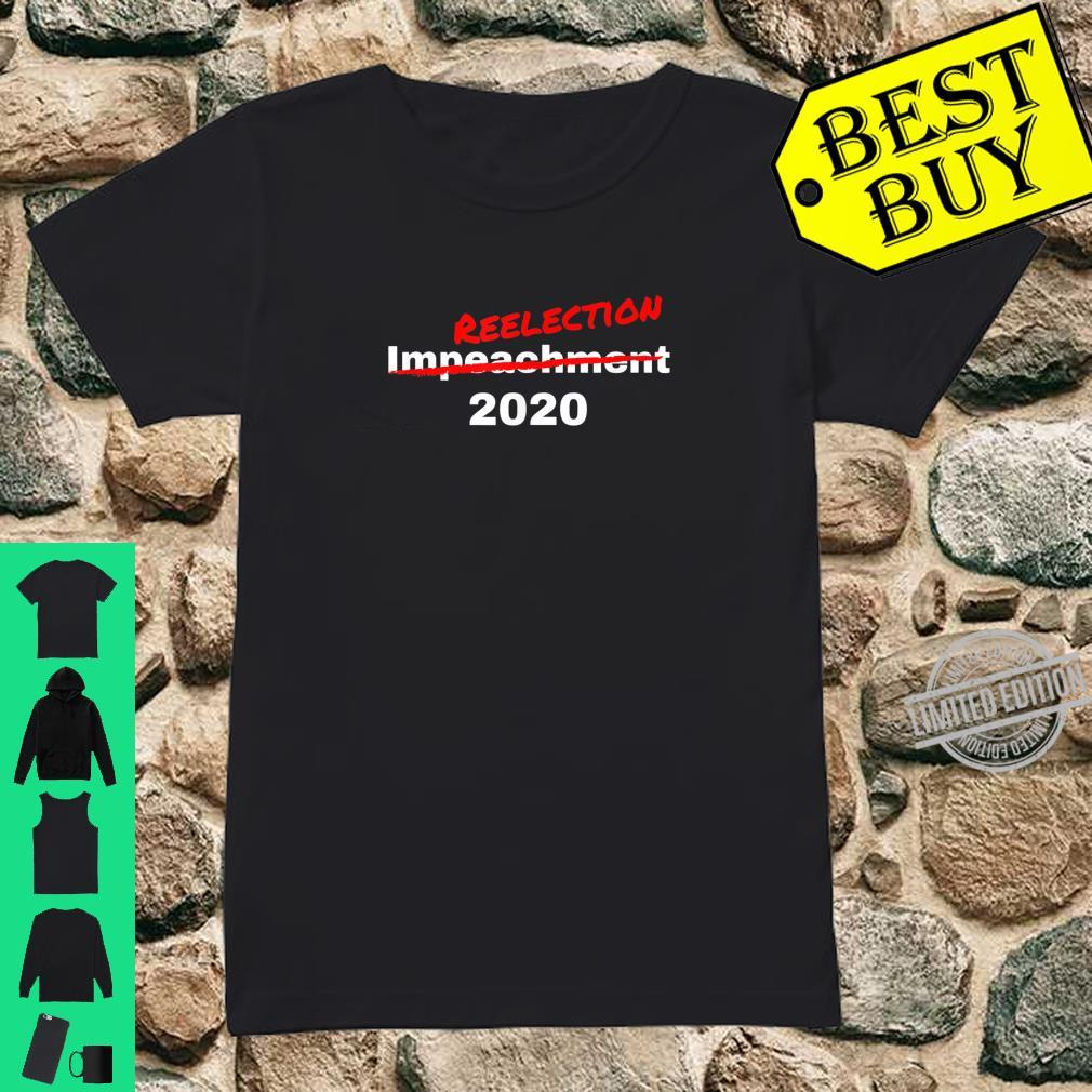 President Trump 2020 Reelection Shirt Shirt ladies tee