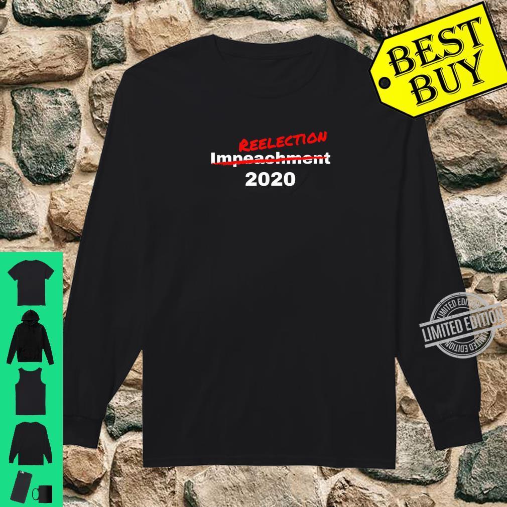 President Trump 2020 Reelection Shirt Shirt long sleeved