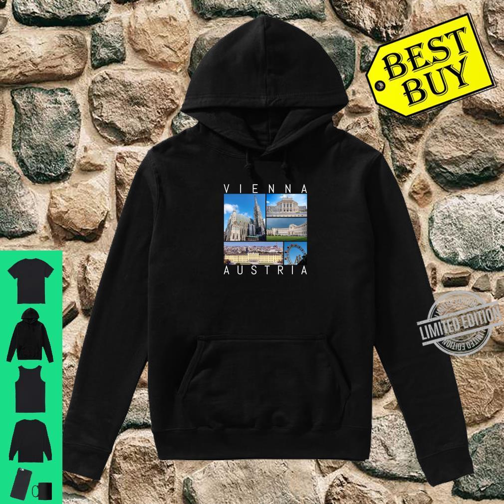 Wien Österreich Souvenir Vienna berühmte Sehenswürdigkeiten Shirt hoodie