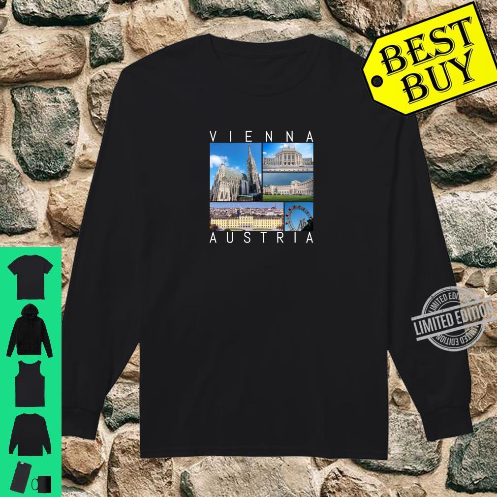 Wien Österreich Souvenir Vienna berühmte Sehenswürdigkeiten Shirt long sleeved