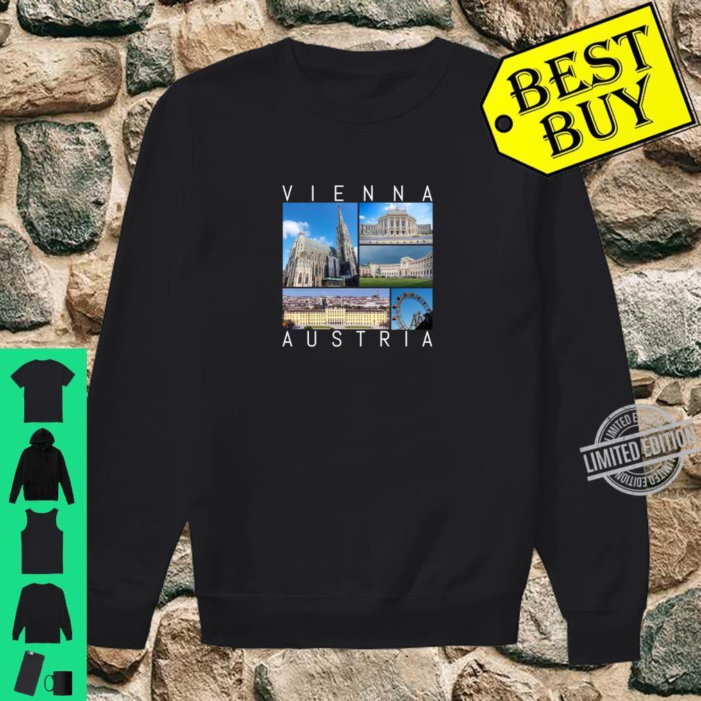 Wien Österreich Souvenir Vienna berühmte Sehenswürdigkeiten Shirt sweater