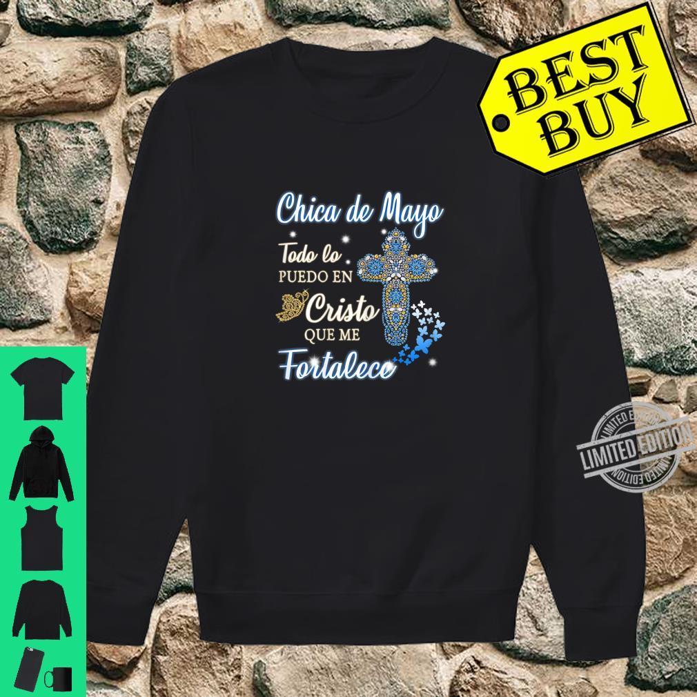 Womens Soy una chica de Mayo Todo lo puedo en Cristo que me fortale Shirt sweater